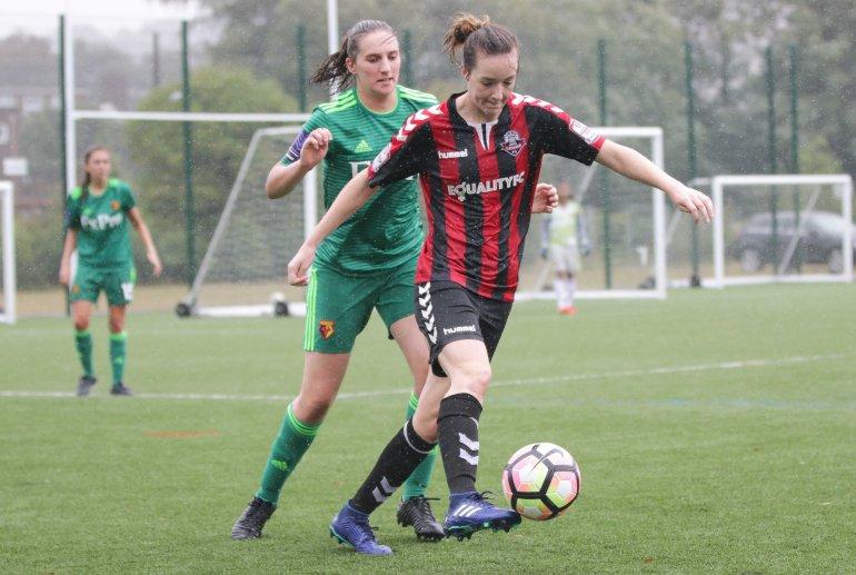 Lewes FC Women 4 Watford Women FC 3 pre season 29 07 2018 -916