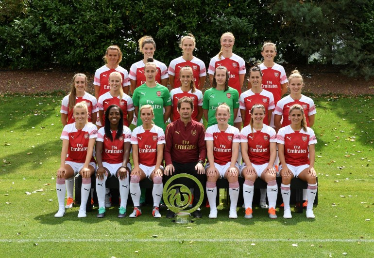 Arsenal Women Photocall
