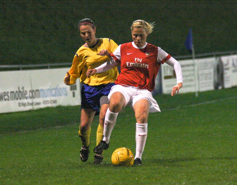 Sussex Ladies V Arsenal Ladies Nov 2010_0035-5
