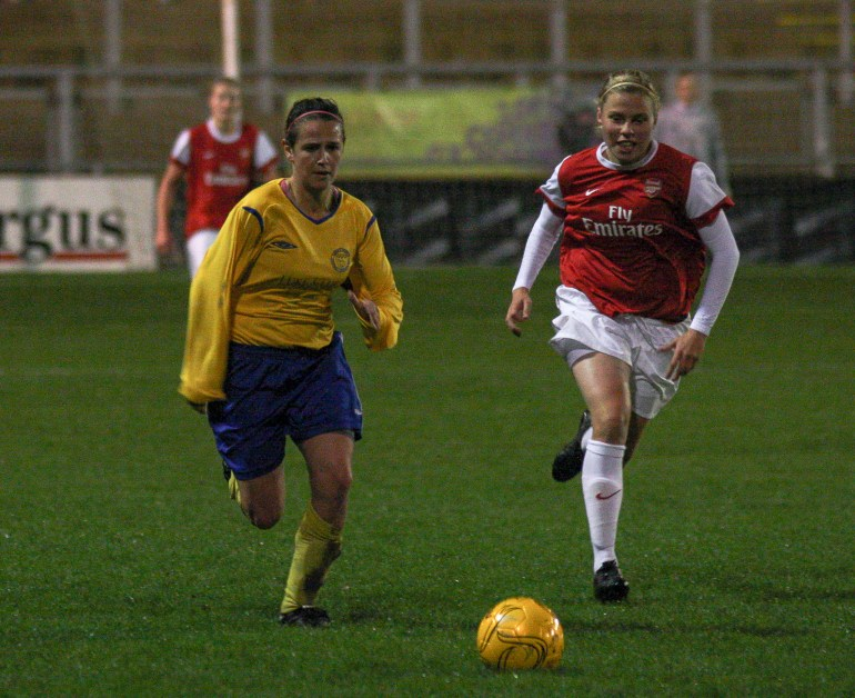 Sussex Ladies V Arsenal Ladies Nov 2010_0063-6