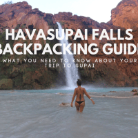 Havasupai Falls Backpacking Guide