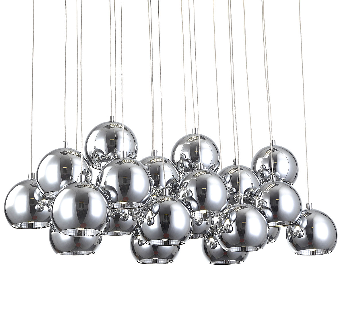 Color Changing Led 40x40cm Chandelier Ceiling Lamp With Rc