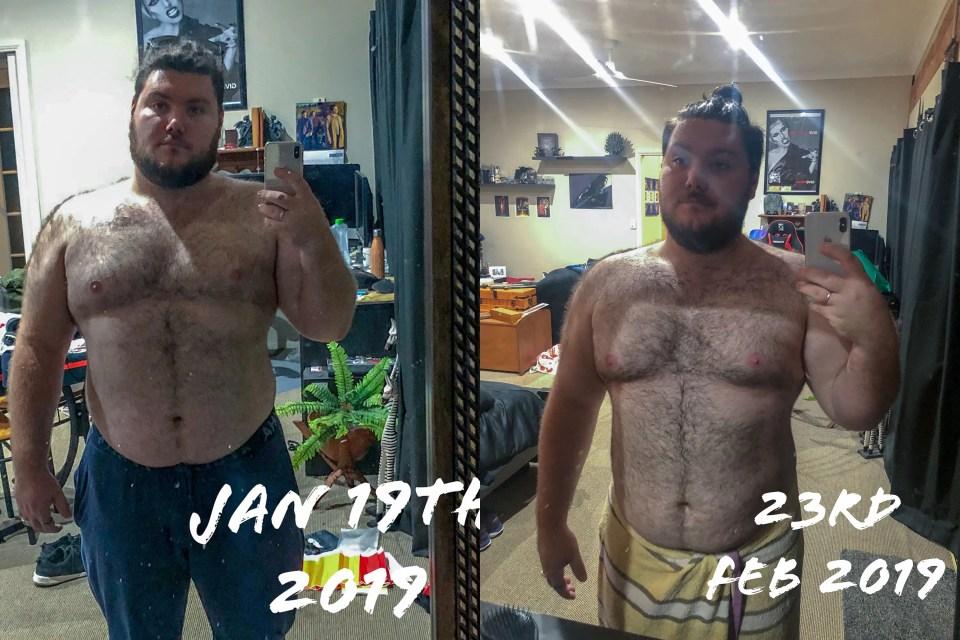 Lewis Hackfath - Weight Loss Feb 2019