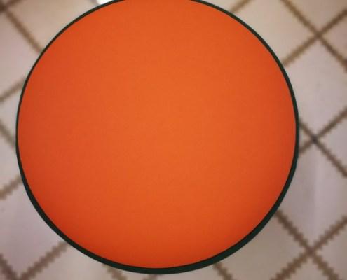 Lewis & Carroll Orange Dot