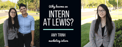 Why Become a Marketing Intern at Lewis Group of Companies?
