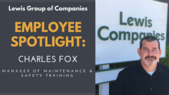 Charles Fox Employee Spotlight