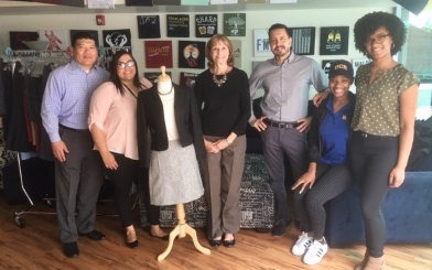 Dress for Success – Lewis and the UC Riverside Career Center