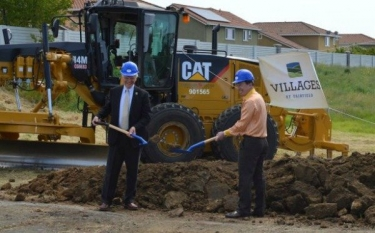 Ground Breaking at The Villages in NorCal
