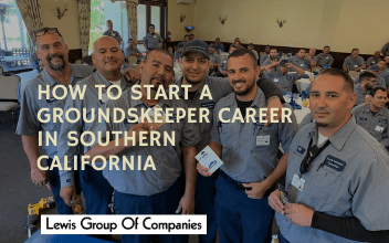 How to Start a Groundskeeper Career in Southern California