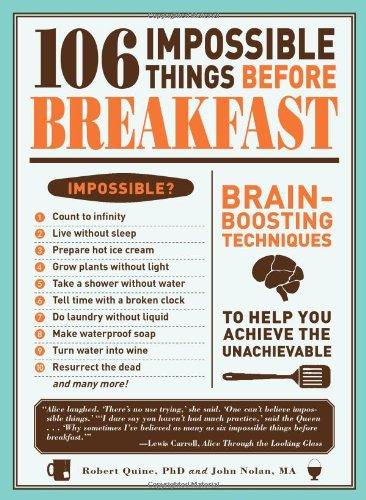 Impossible Things To Do : impossible, things, Impossible, Things, Before, Breakfast, Lewis, Carroll, Society, North, America