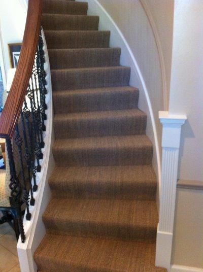 Glencoe  Stairway Carpeting  Lewis Floor and Home