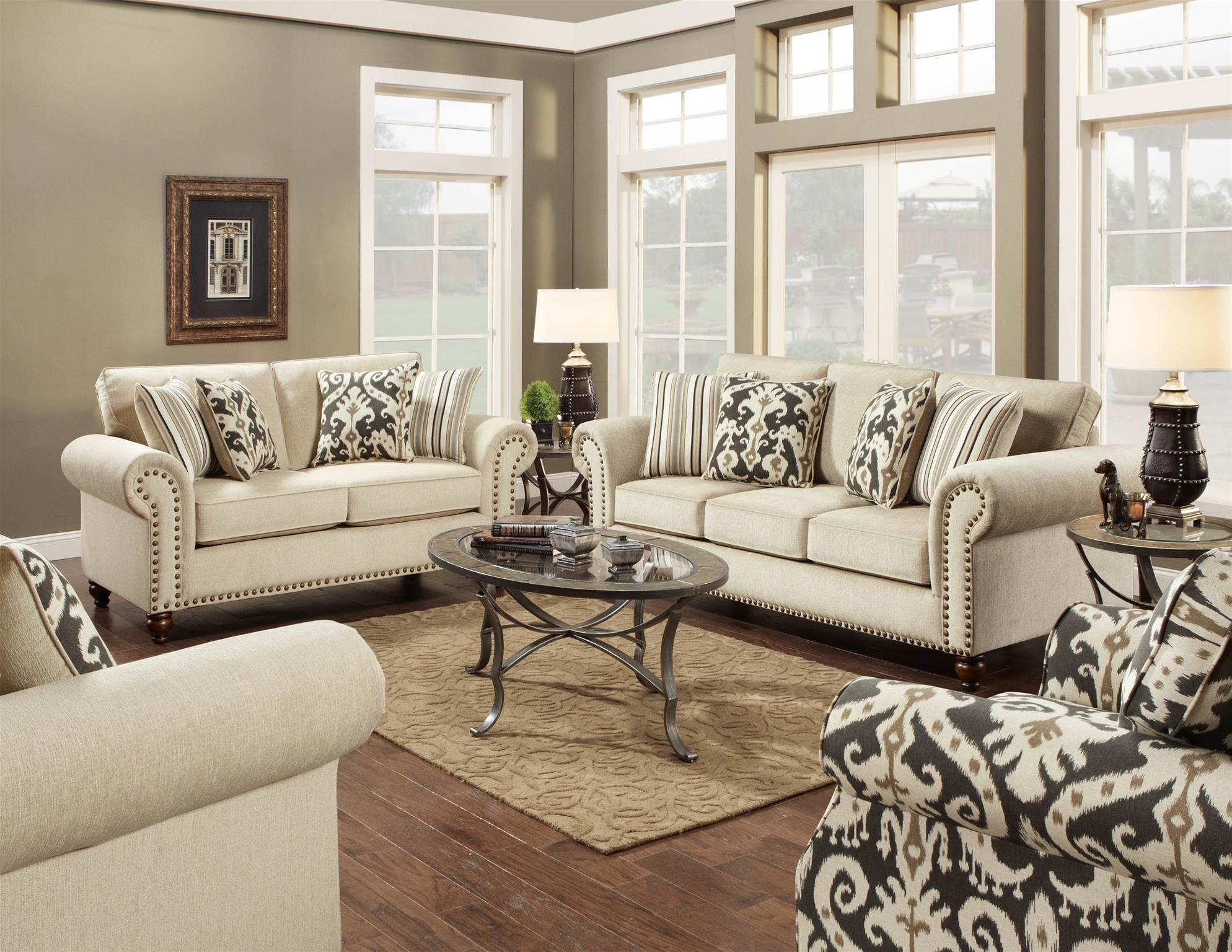 31103114 Fairly Sand Sofa by Fusion  Lewis Furniture Store