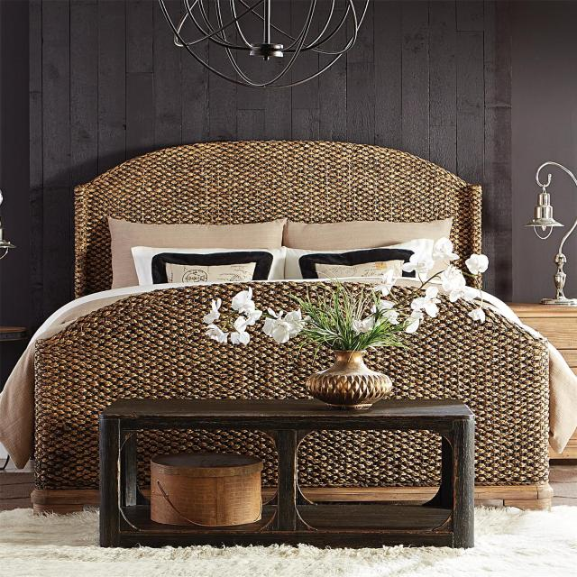 Sherborne Woven Bed by Riverside – Lewis Furniture Store