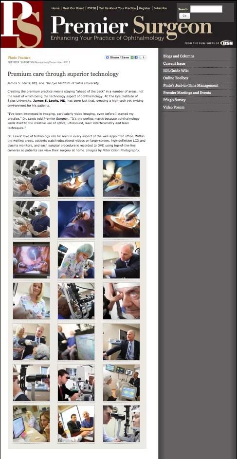 Premier Surgeon Photo Feature