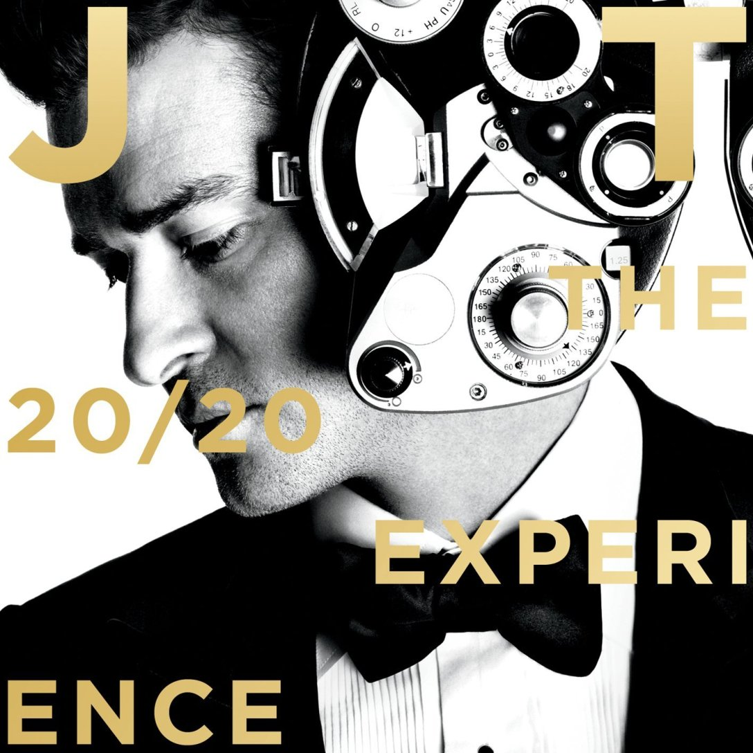 The 20/20 Experience vinyl cover art