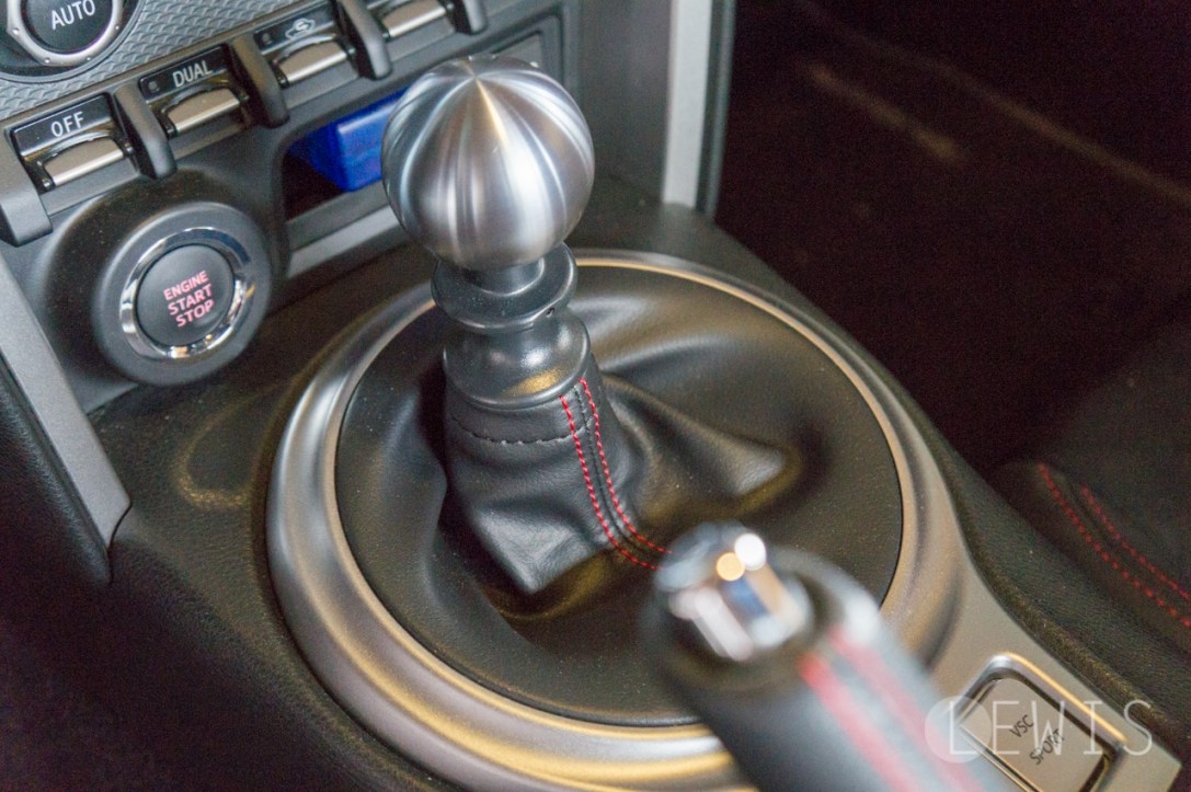 BRZ manual transmission