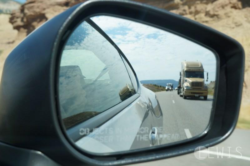 BRZ side view mirror