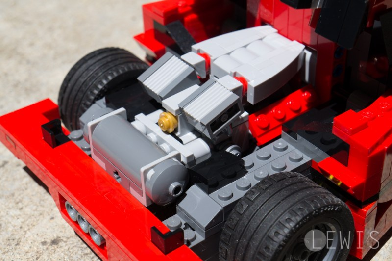 Lego Ferrari F40-14
