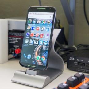 Moto X 2014 on Sarvi Dock