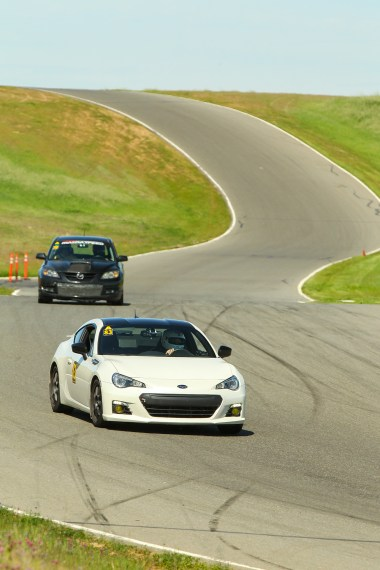Subaru BRZ Mazdaspeed 3 Thunderhill