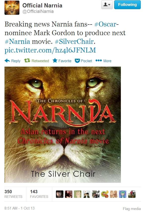 the chronicles of narnia silver chair movie ergonomic guide announced as next c s lewis minute