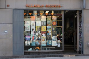 Manchester's famous Piccadilly Records