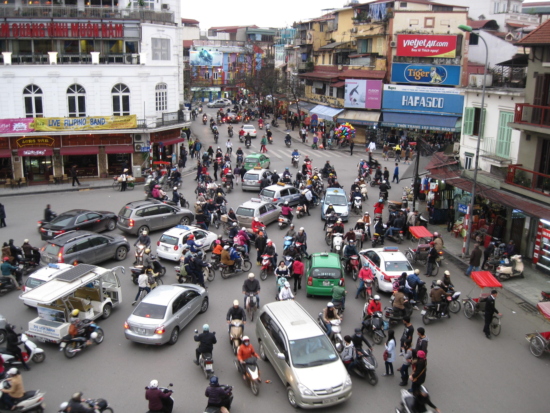 Hanoi Vietnam Medieval meets the 21st century  Around