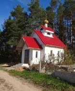 Церковь (Чешуйчатый купол, желто-коричневый) левша