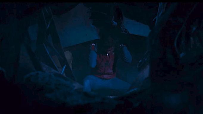 Spider-Man lifting
