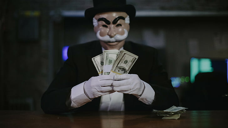 mr robot money