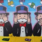 Monopoly Man 3 Monkeys