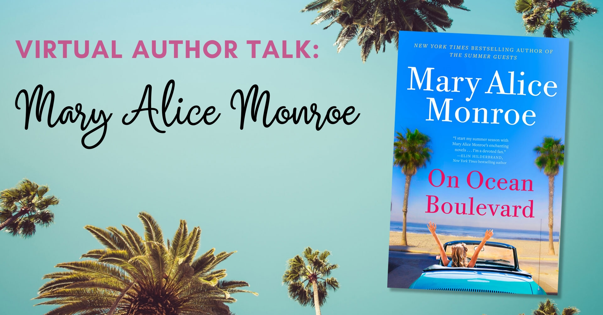 New York Times Bestselling Author Talk: Mary Alice Monroe