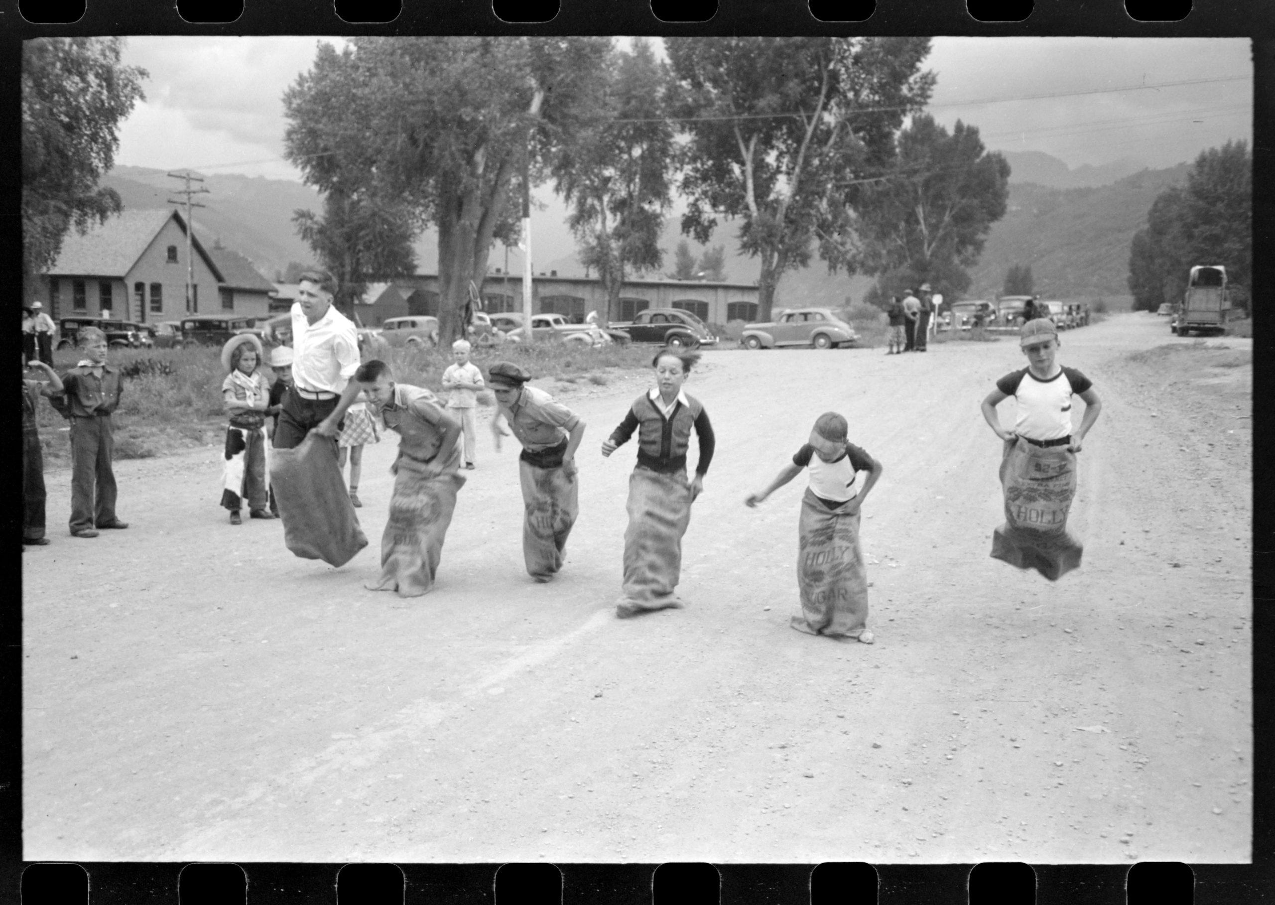Labor Day celebration in Colorado, circa 1940. Library of Congress