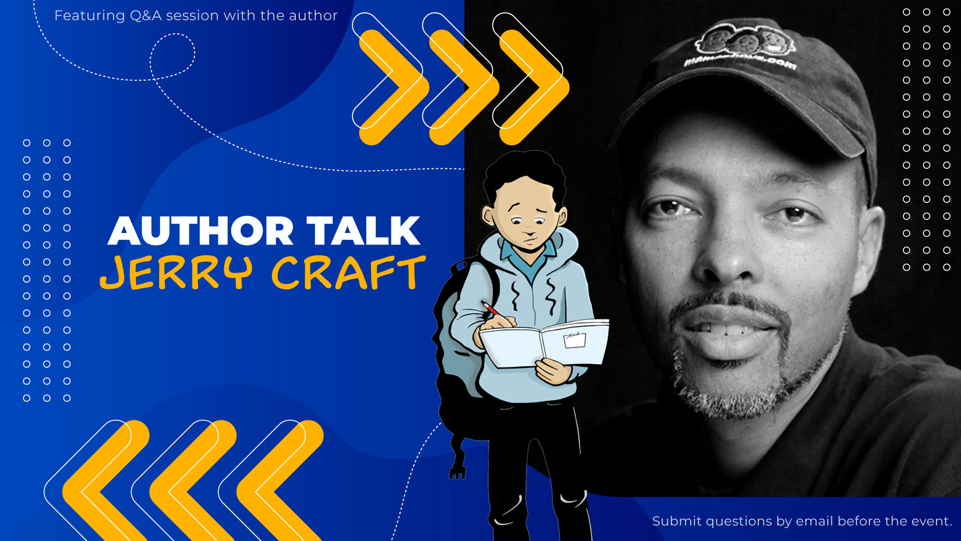 author talk jerry craft
