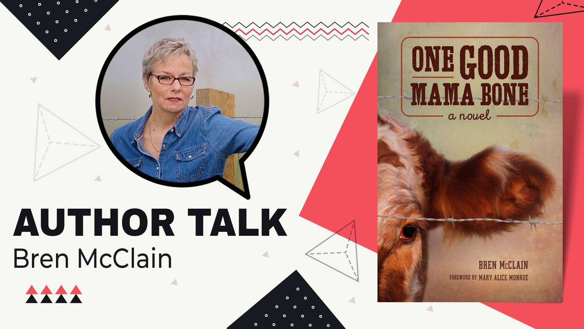 author talk Bren McClain