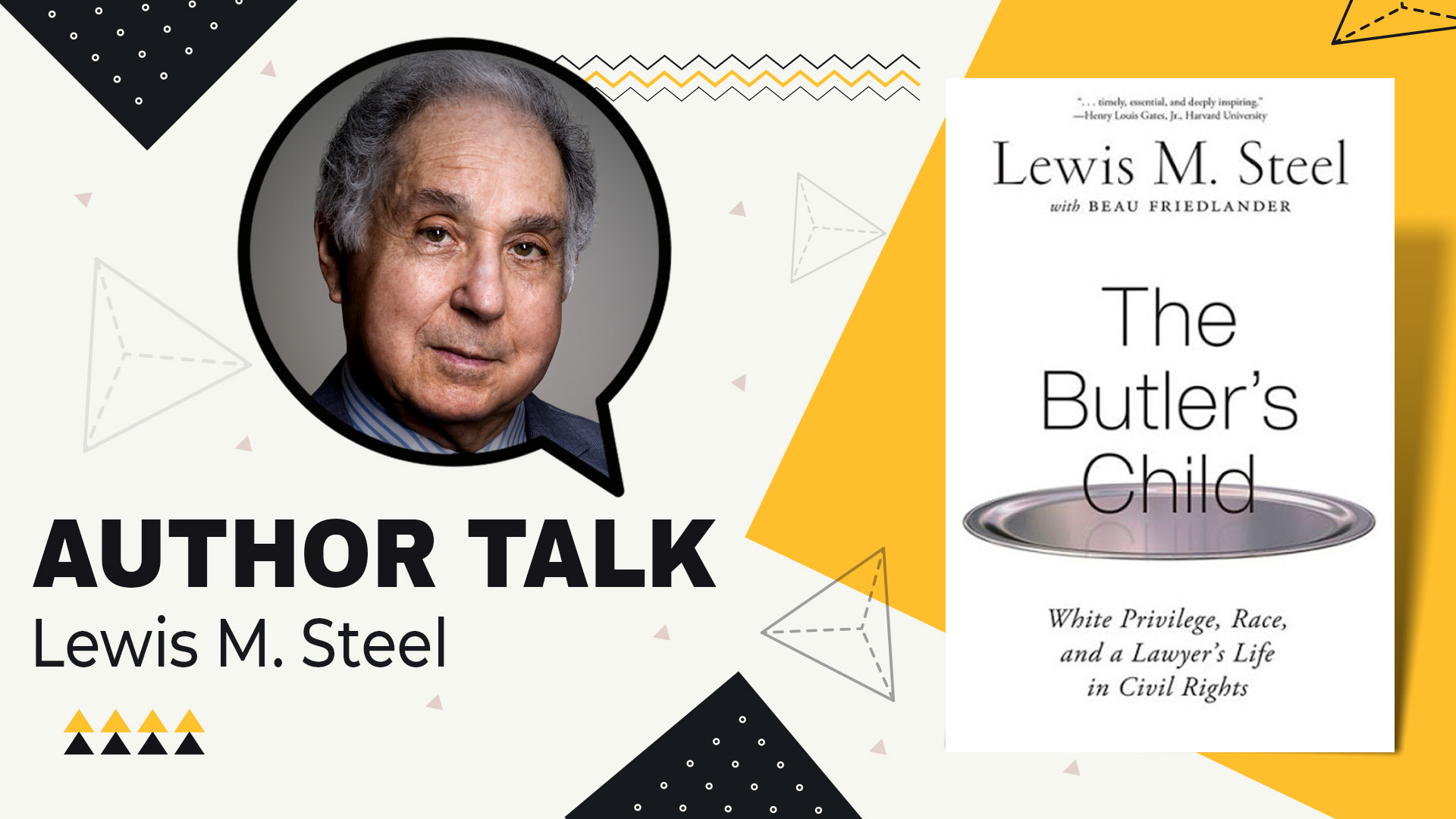 author talk lewis m steel