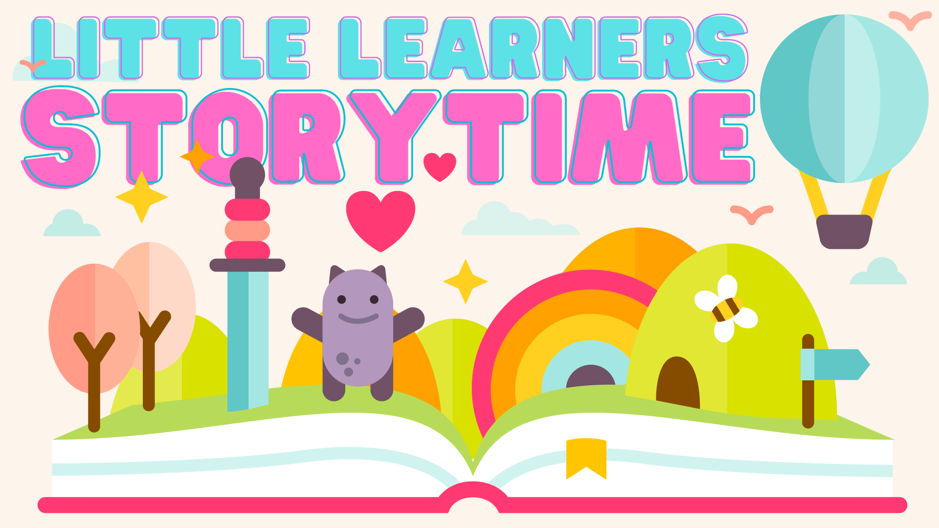 little learners storytime