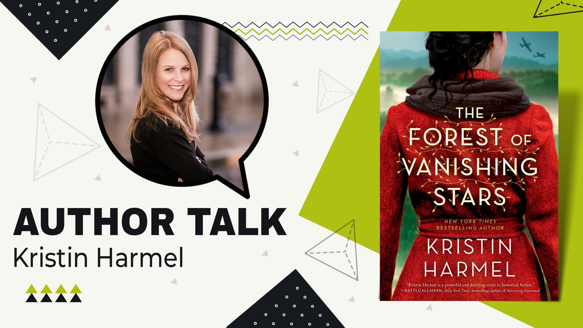 author talk kristin harmel