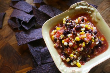 Roasted Corn & Black Bean Salsa from LexEats.com