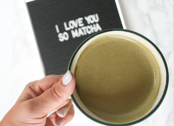 Power Matcha Latte on lexeats.com