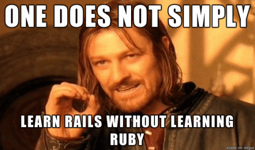 learning rails with ruby meme_optimised