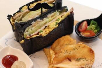 東區美食》鬍子茶-平價早午餐下午茶/義大利麵/吐司帕尼尼/飲料,聚餐桌遊餐廳推薦