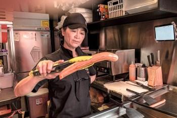 Tulip timeout 正宗丹麥熱狗堡慶城店》各種尺寸熱狗堡,大推脆皮會失蹤的脆皮豬肉堡