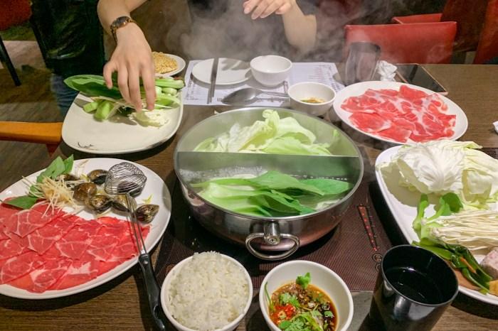 內湖火鍋卡拉拉涮涮鍋,很邪門的火鍋店吃久會上癮,湯頭很棒必點蛤蠣鍋(菜單)