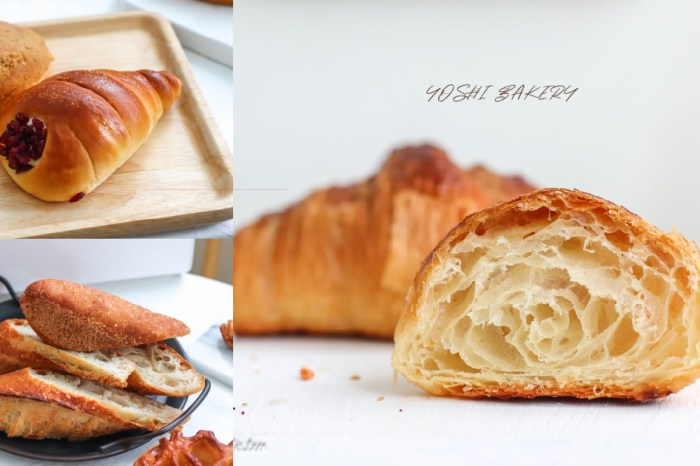 陳耀訓麵包埠|必吃原味可頌、世界麵包冠軍升級版台式麵包