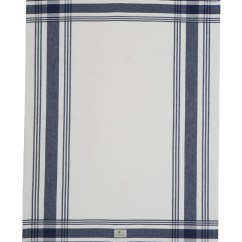 Kitchen Towel Cabinet Corner Shelf Towels Hotel Framed White Blue