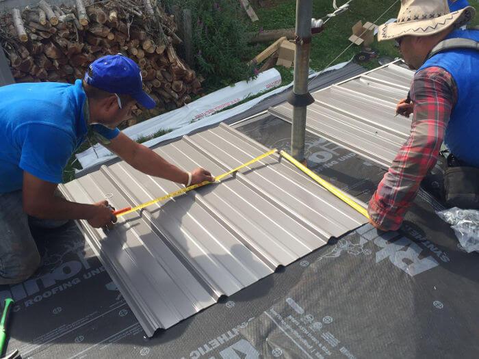 Measuring Metal Around Roof Ventilation 11 2 16