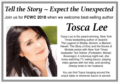 Tosca Lee at FCWC 2108