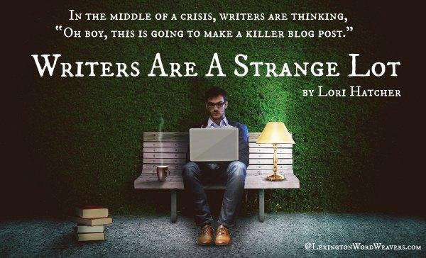 Writers are Strange Lot by Lori Hatcher