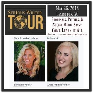 Serious Writer Tour Lexington 2018
